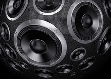 Speakers Background Stock Images
