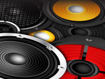 Speakers Background Royalty Free Stock Image