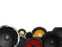 Speakers Border Royalty Free Stock Images