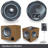 Speakers collection Royalty Free Stock Photography