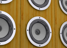 Speakers - 3D Royalty Free Stock Image