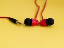 Speakers Headphones Stock Photography