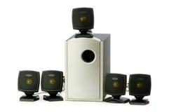 Speakers isolated Stock Photos