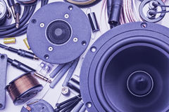 Speakers parts Royalty Free Stock Photography