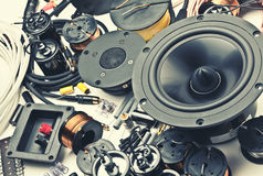 Speakers parts Stock Images