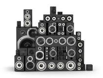 Speakers Set Stock Image