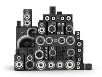 Speakers set Stock Image
