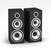 Speakers set Stock Images