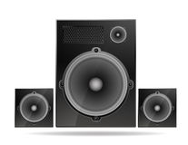 Speakers system Royalty Free Stock Image