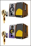 Speakers systems Stock Photography