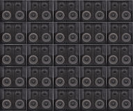 Speakers texture Stock Photo