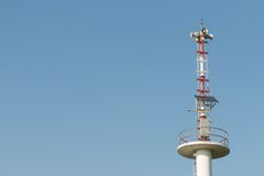 Speakers tower Stock Image