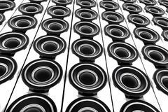 Speakers Wall Stock Images
