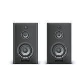 Speakers  on white Stock Photography