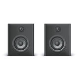 Speakers  on white Royalty Free Stock Photography