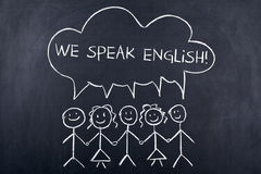 Speaking English Language Concept Royalty Free Stock Image
