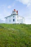 Spear van de kaap Vuurtoren Newfoundland Stock Afbeeldingen