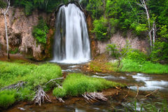 Spearfish Falls of the Black Hills Stock Photo