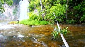 Spearfish Falls South Dakota stock video