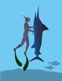 Spearfishing Stock Photography