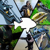 spearfishing lizenzfreie stockbilder