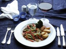 Specıal food menu Royalty Free Stock Image