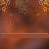 Spec Background. Image of a spec round bakcground Stock Image