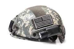 Spec Ops Acupat Helmet Royalty Free Stock Images