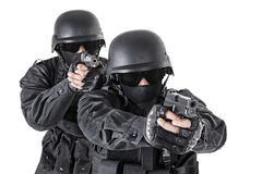 Spec ops officers SWAT Stock Photos