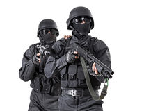 Spec ops officers SWAT Royalty Free Stock Photo