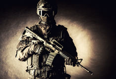 Spec ops police officer SWAT stock photography