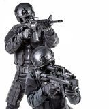 Spec ops police officer SWAT Stock Image