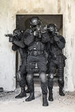 Spec ops police officers SWAT Stock Image