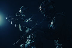 Spec ops police officersSWAT Stock Images