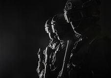 Spec ops police officersSWAT royalty free stock photography