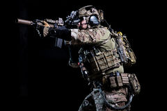 Spec ops soldier royalty free stock photo