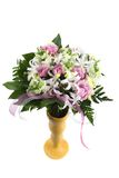 Specal delivery flowers Stock Photography