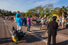 Specatators Comrades Marathon Runners Royalty Free Stock Photos