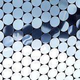 Specchi blu Fotografie Stock