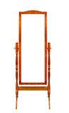 Specchi del blocco per grafici di legno del pavimento Fotografia Stock Libera da Diritti