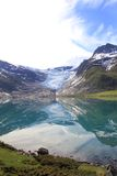 Specchi del ghiacciaio di Svartisen Fotografie Stock