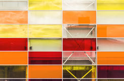 Specchi rettangolari colorati Fotografie Stock Libere da Diritti