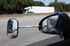 Specchietto retrovisore con l'estensione Fotografia Stock Libera da Diritti