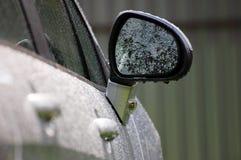 Specchietto retrovisore laterale Fotografia Stock