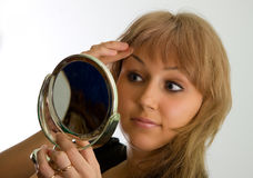 Specchio Fotografie Stock