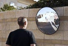 Specchio Immagine Stock