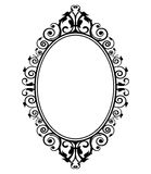 Specchio d'annata Fotografia Stock