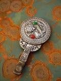 Specchio d'argento Fotografie Stock