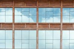 Specchio del cielo Fotografia Stock