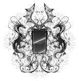 Specchio del drago Immagini Stock